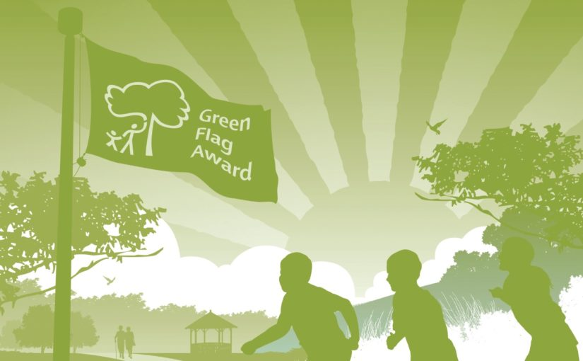 Caerphilly Woodlands Trust Wins Green Flag Award 3rd Year Running